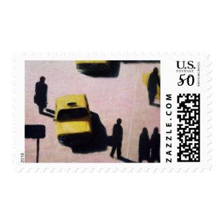 New York Taxis 1990 Postage