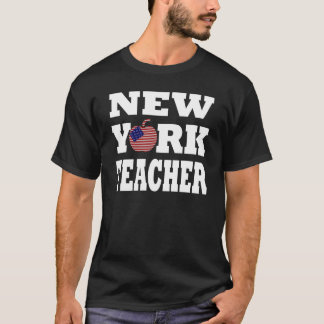 New York Teacher  (Big Apple) T-Shirt