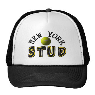 New York Tennis Stud Trucker Hat