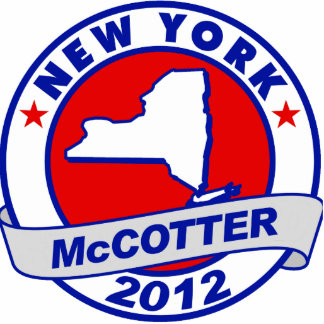 New York Thad McCotter Cutout
