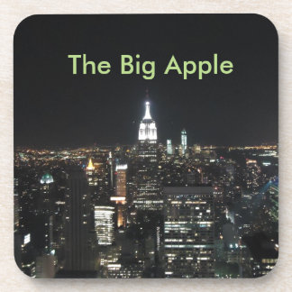 New York The Big Apple Manhattan at Night Gift Drink Coaster