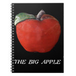 New York The Big Apple Spiral Note Book