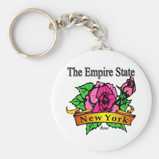 New York The Empire State Key Chain