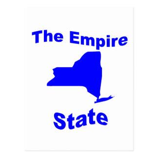 new york state motto postcards postcard template designs. Black Bedroom Furniture Sets. Home Design Ideas