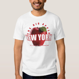 New York The Red Apple - 9/11 Forever Remembered! Shirts