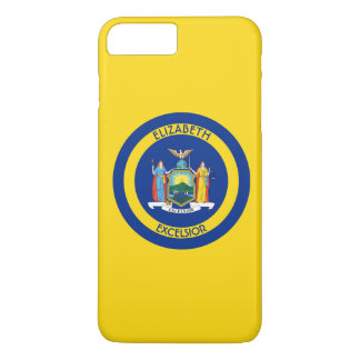 New York The The Empire State Personalized Flag iPhone 7 Plus Case