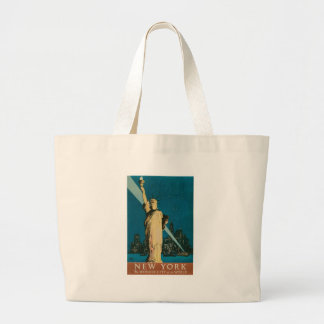 New York: The Wonder City of the World Poster Tote Bag