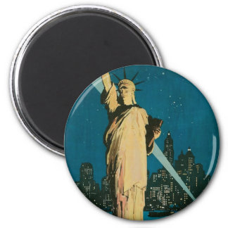 New York: The Wonder City of the World Poster Refrigerator Magnet