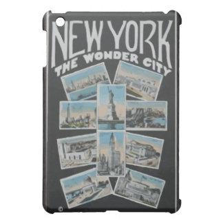 New York The Wonder City, Vintage iPad Mini Covers
