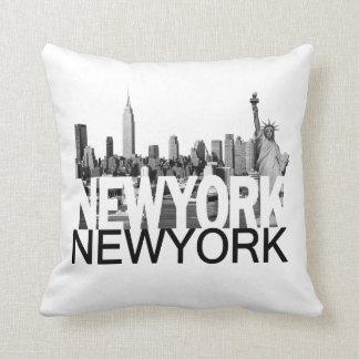 New York Throw Pillow