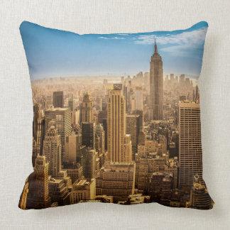 New York Throw Pillows