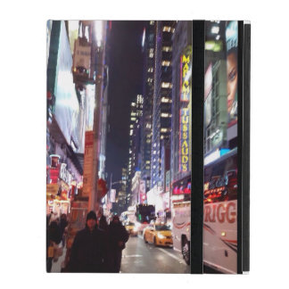 New York Time Square Manhatten iPad Cover