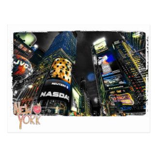 New York Time Square Postcard