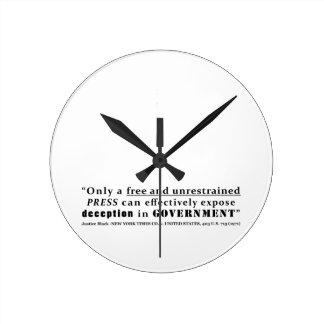 New York Times Co v Estados Unidos 403 nosotros 71 Relojes De Pared