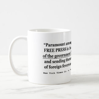 New York Times Co v United States 403 US 713 1970 Coffee Mug