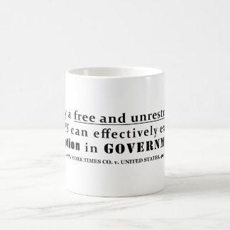 New York Times Co v United States 403 us 713 1971 Coffee Mug
