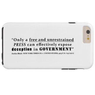 New York Times Co v United States 403 us 713 1971 Tough iPhone 6 Plus Case