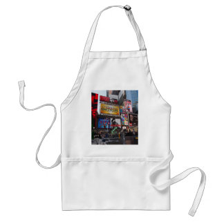 New York Times Square Billboards Adult Apron