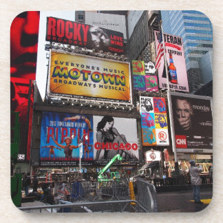New York Times Square Billboards Coaster