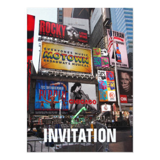 New York Times Square Billboards Invite