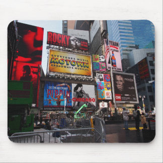 New York Times Square Billboards Mouse Pad