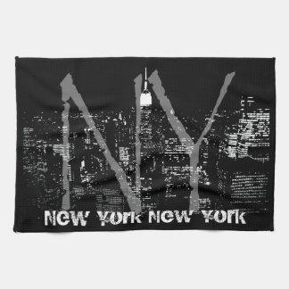 New York Towel Personalized NYC Souvenir Tea Towel