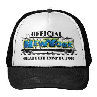 New York Train - Graffiti Inspector Trucker Hat