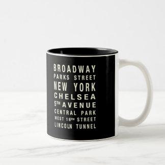NEW YORK TRAIN MUG