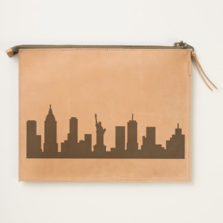"""""""New York"""" Travel Pouch"""