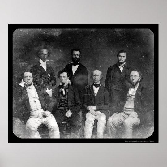 New York Tribune Daguerreotype 1848 Poster