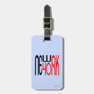 New-York Typestyle Cool Bag Tag