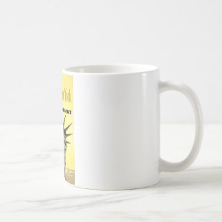 New York United Air Lines Statue Of Liberty Coffee Mug