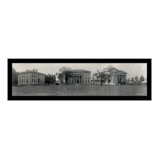 New York University Photo 1909 Poster