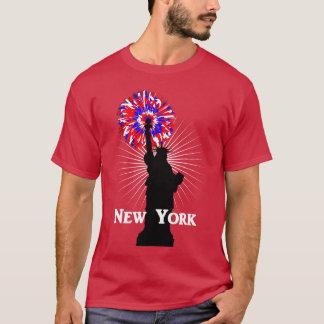 New York USA American Patriotic Statue Of Liberty T-Shirt