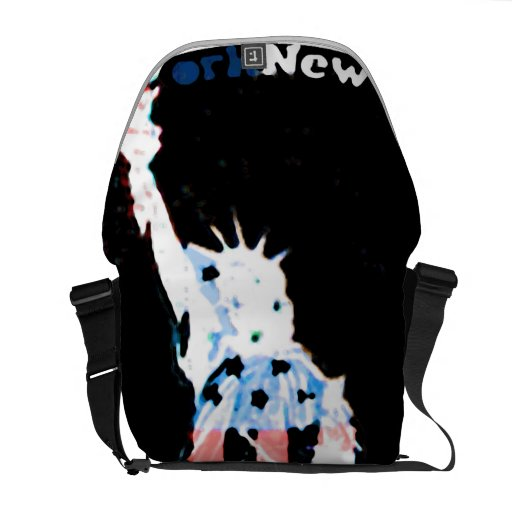 New York USA Liberty bag Messenger Bag