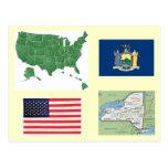 New York, USA Post Cards