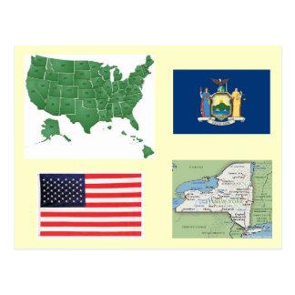 New York, USA Postcard