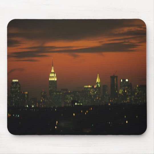 New York, USA. Skyline of uptown Manhattan 2 Mouse Pad