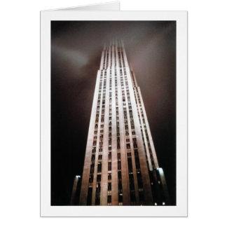 New York USA Skyscraper architecture photograph Card