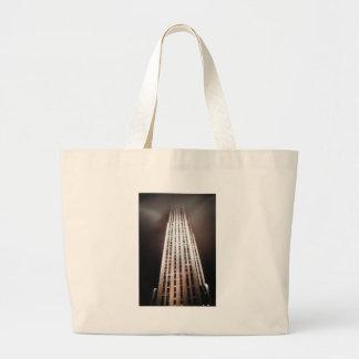 New York USA Skyscraper architecture photograph Large Tote Bag