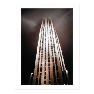 New York USA Skyscraper architecture photograph Postcard