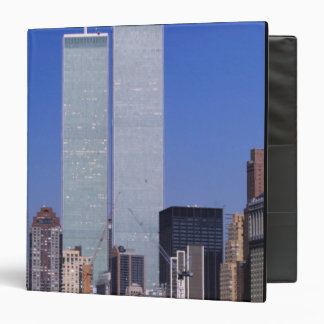 New York, USA. Twin towers of the famous World Binder