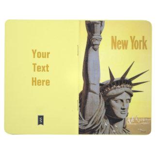 New York USA Vintage Travel pocket journal