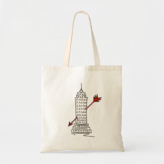 New York Valentine NYC Cupid Arrow Skyscraper Bag