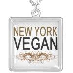 New York Vegan Custom Necklace