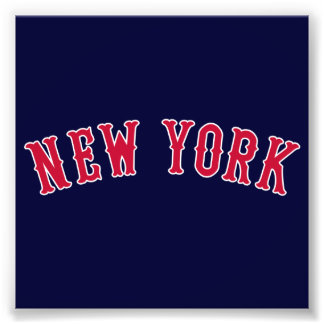 New York Versus Boston Rivals Photo Print