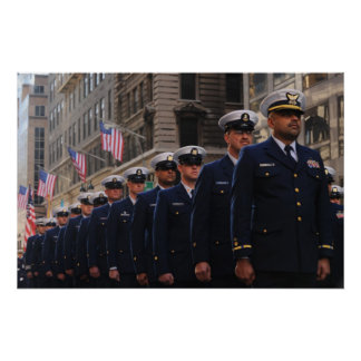 New York Veterans Day Parade Poster