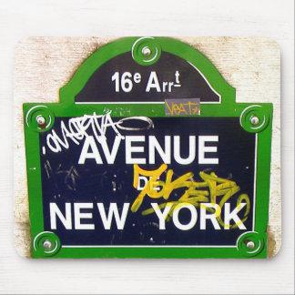 New York via Paris Mouse Mat