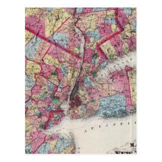 New York & vicinity Postcard