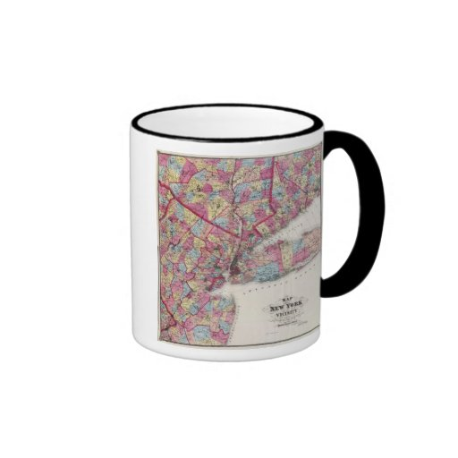 New York & vicinity Ringer Mug